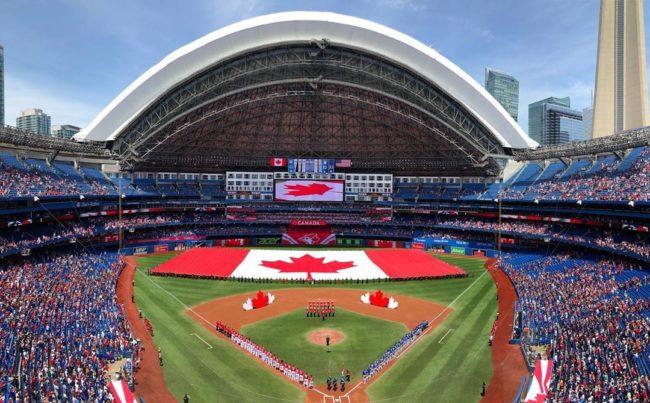 Blue Jays Game in Toronto