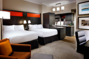 Double suite at Toronto hotel One King West