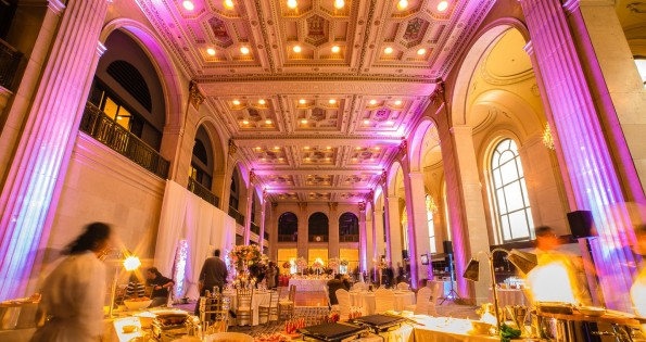 High ceilings characterize these unique wedding venues Toronto has.