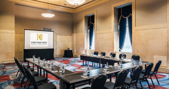 One King West has great hotel conference rooms for businesses.