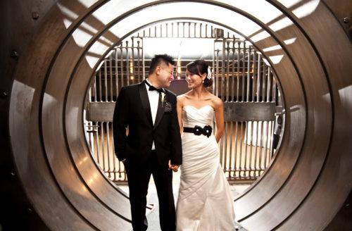Marriage in vault and unique wedding venues Toronto