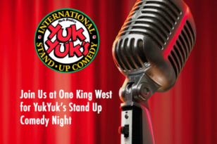 One King West Toronto hotel comedy show