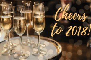 Champagne toasts at New Year's event venues Toronto
