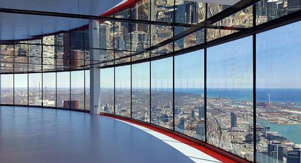 cn tower views