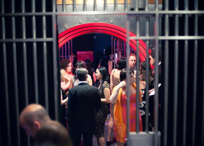 Guests at unique wedding venues Toronto partying