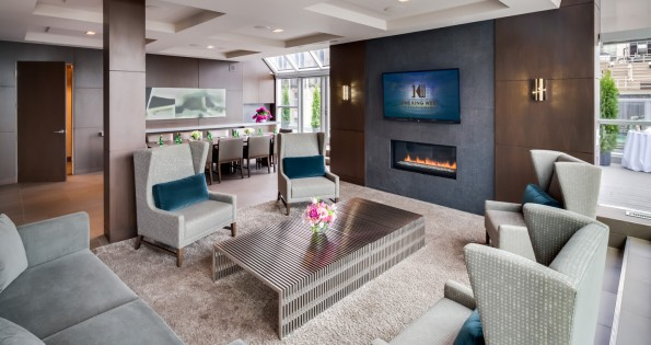 hotel conference rooms with fireplace