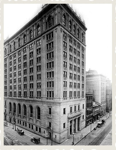 Dominion Bank Head Office in 1914