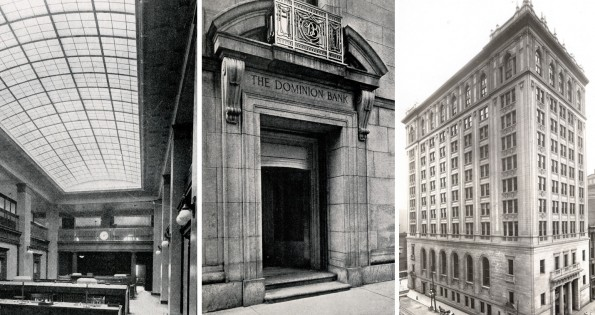 old photos of one king west hotels in toronto