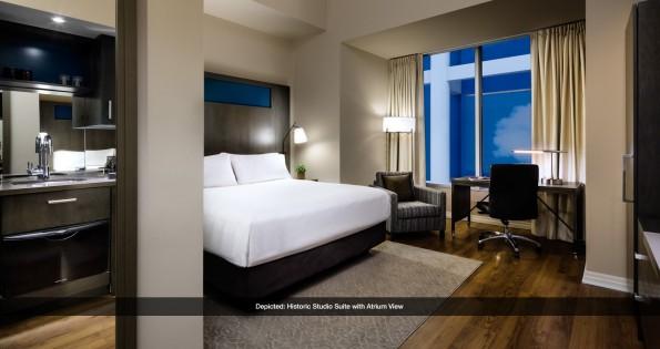 Suite Historic Studio Slide at Toronto hotel