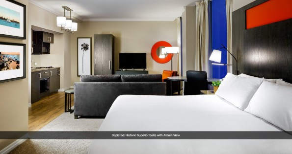 superior suite at OKW hotels in Toronto