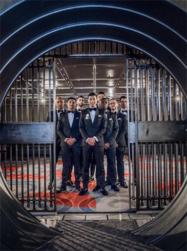 vault wedding