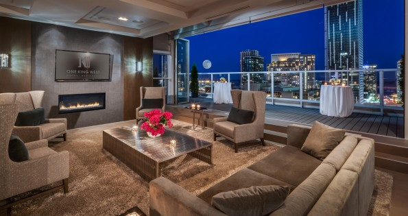 Balcony suites at hotels in Toronto